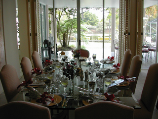 Dinning Table Setting